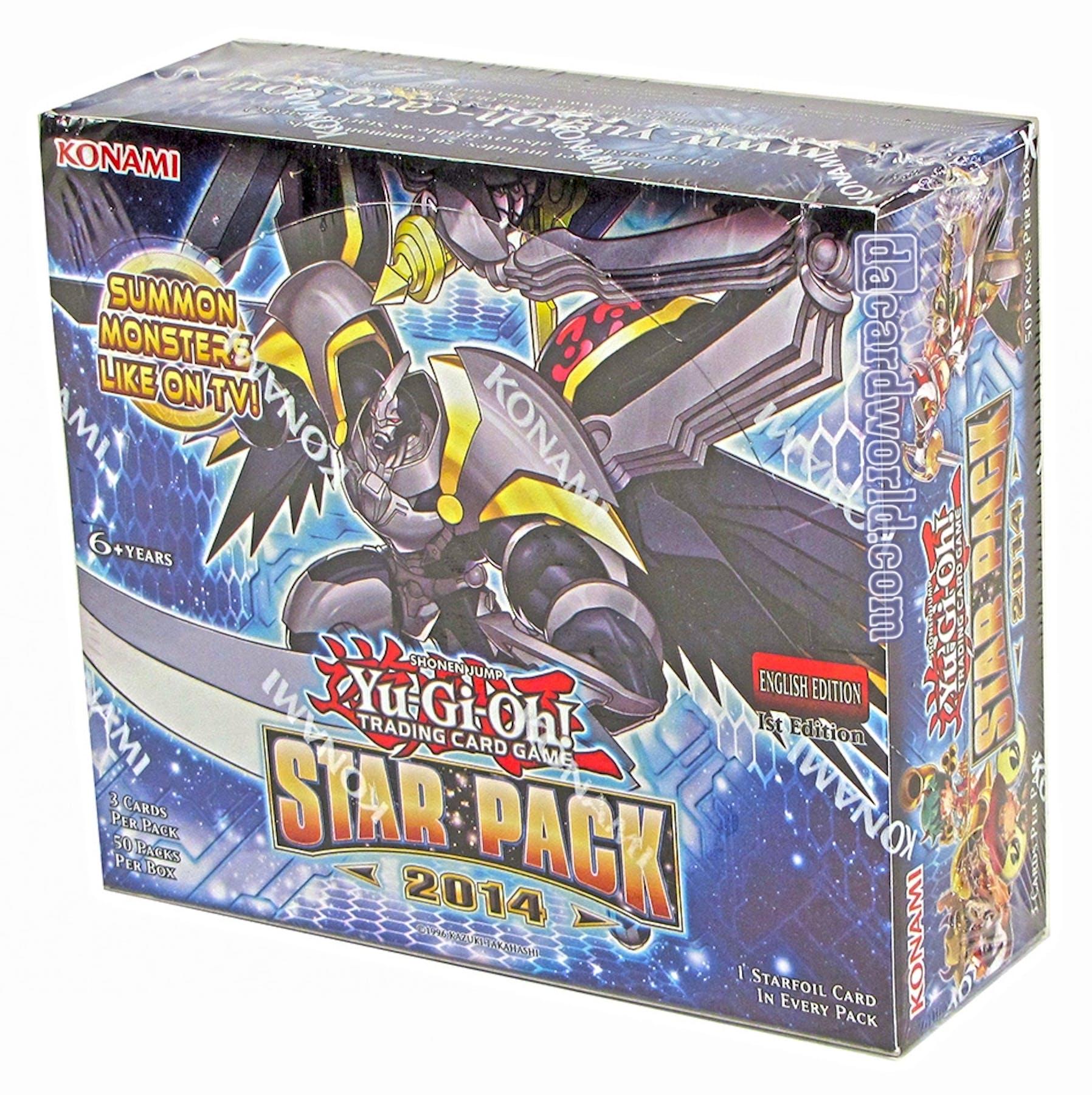 Konami Yu-Gi-Oh Star Pack 2 Booster Box