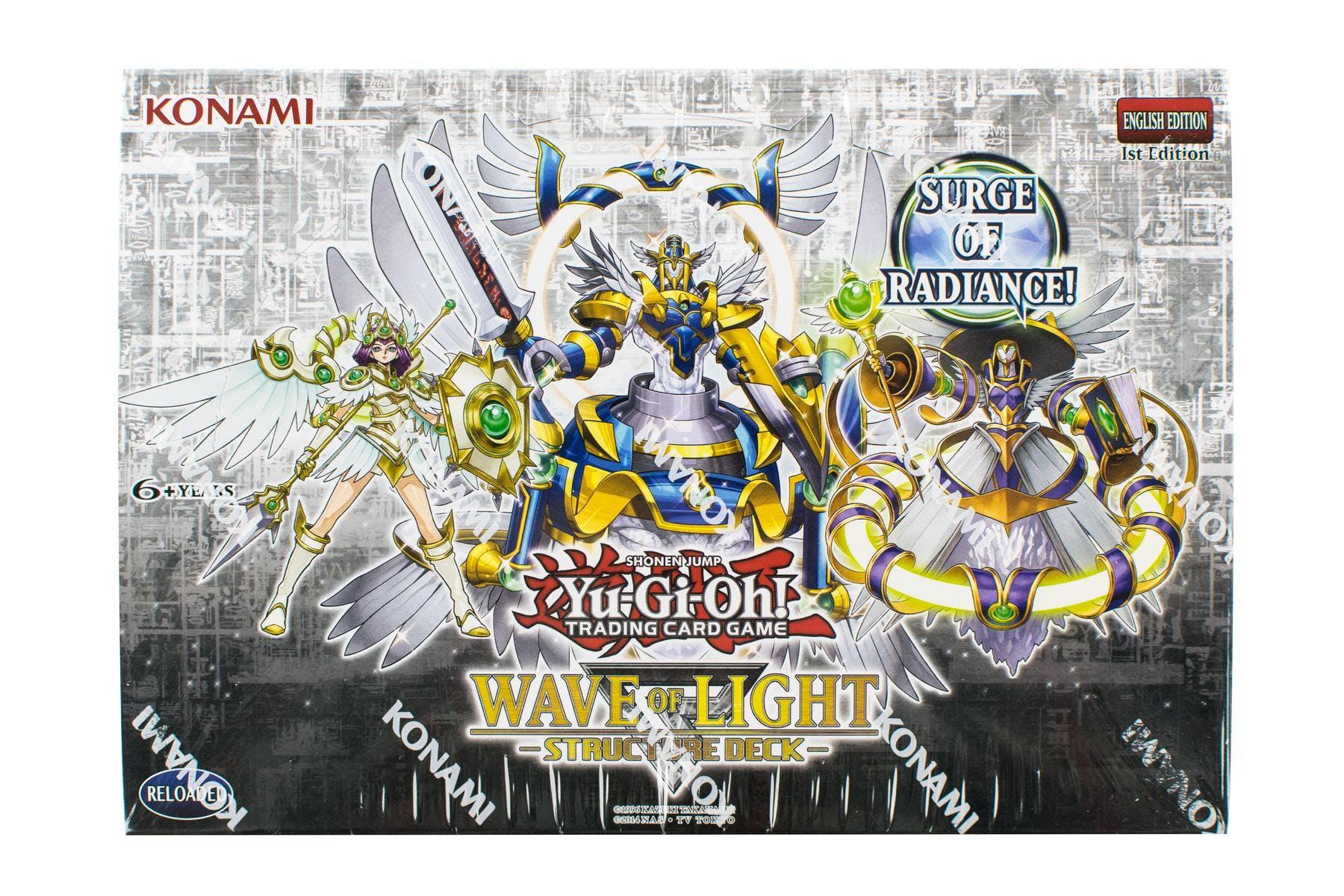 Konami yu gi oh wave of light structure deck box da card world konami yu gi oh wave of light structure deck box mozeypictures Images