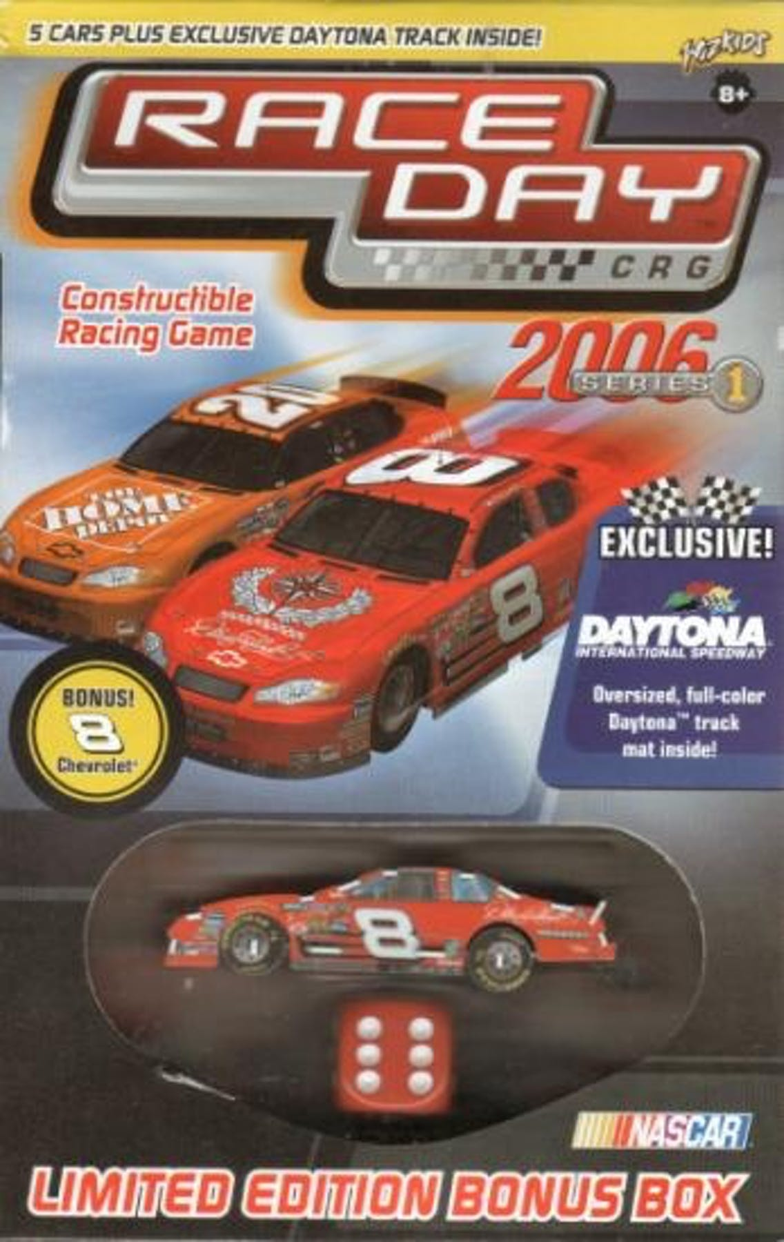 Wizkids Nascar Race Day 2006 Dale Earnhardt Jr Value Box
