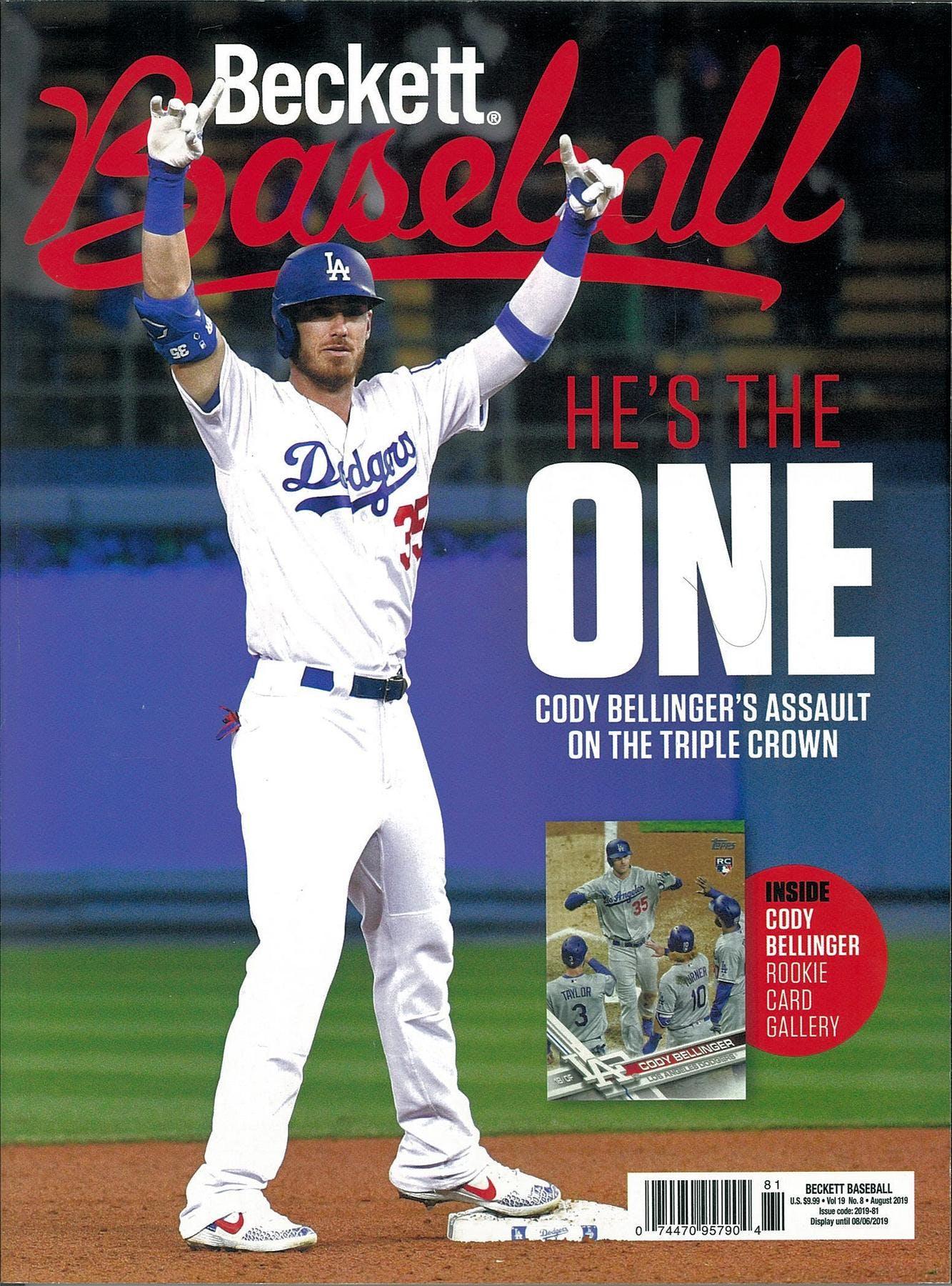 2013 Beckett Baseball Monthly Price Guide 86 May Yu Darvish