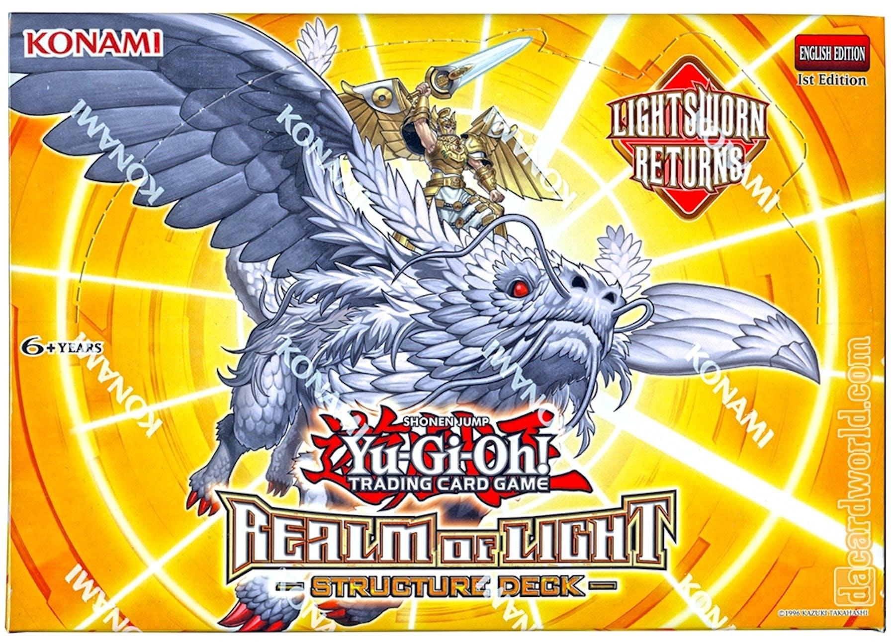 Konami yu gi oh realm of light structure deck box da card world konami yu gi oh realm of light structure deck box mozeypictures Images